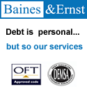 Baines & Ernst – debt is personal but so our services