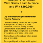 Aspiring Traders - Chance to Win £100,000!
